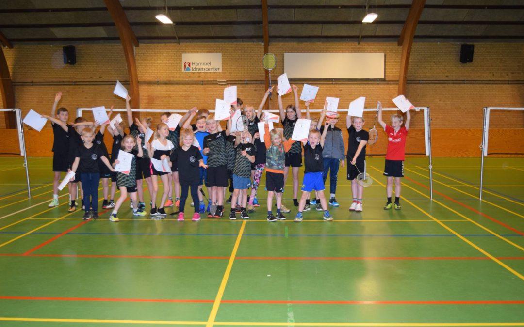 Badmintonskole i Hammel i uge 27