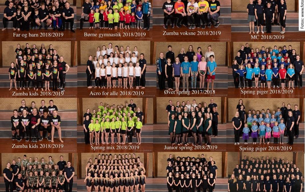 Gymnastikopvisning 19/20 21. marts 2020