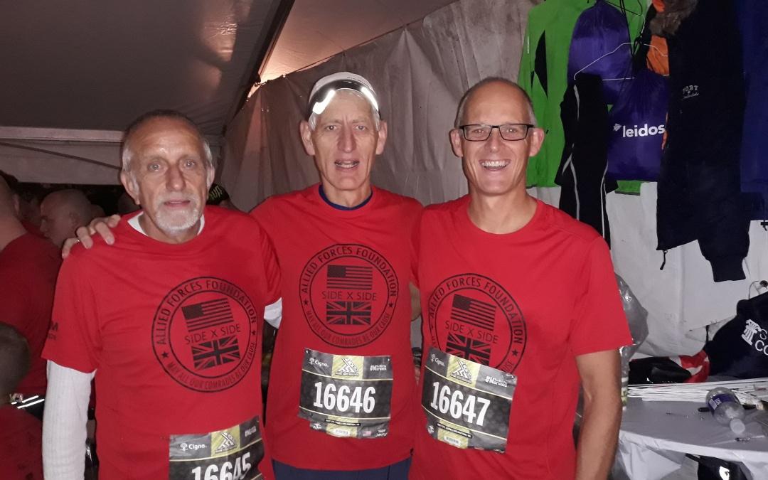 Marine Corps marathon i Washington.