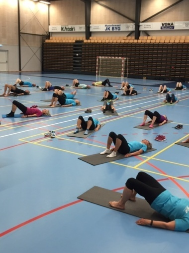 Gymnastikafslutning i Unge Ældre