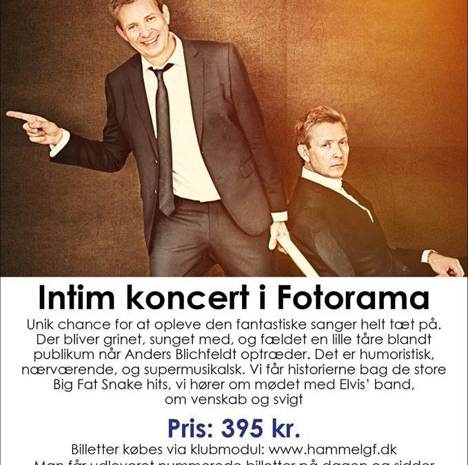Intim koncert i Fotorama.