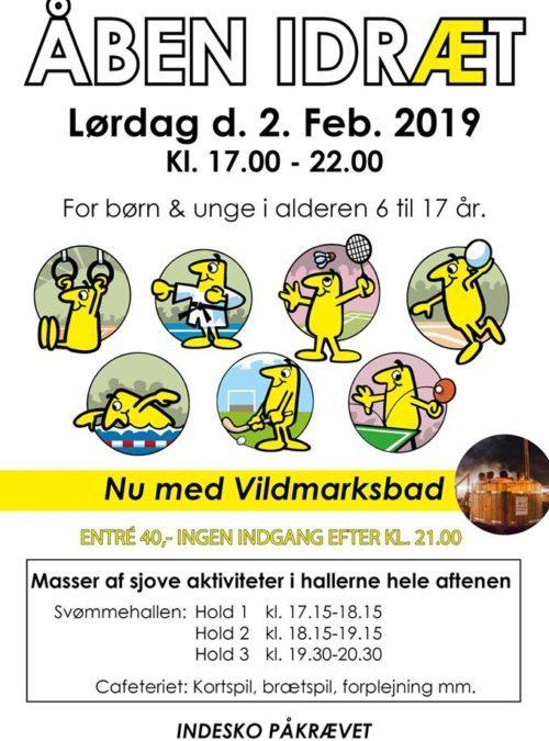 Åben Idræt 2.feb 2019