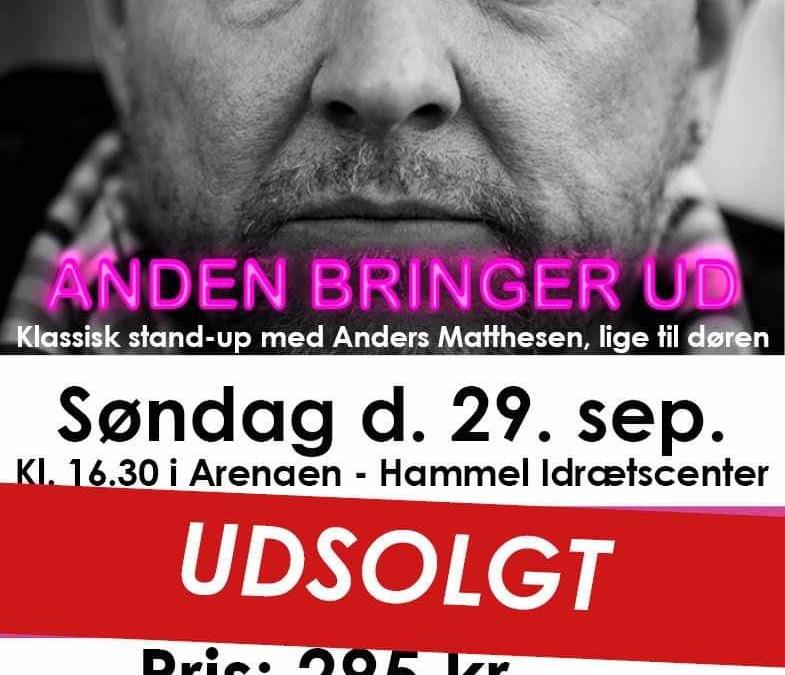 Anders Matthesen – ANDEN bringer ud i Hammel.